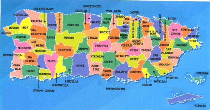 Mapas y Fotos de Puerto Rico - La Patria de Puerto Rico